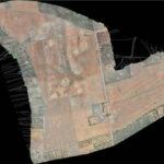 curva di livello con drone
